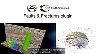 Demo of OpendTect's Faults & Fractures Plugin