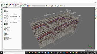 Demo of the Inversion+ horizon tracker in OpendTect 6.4.5