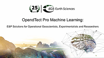 Demo of OpendTect's Machine Learning Plugin