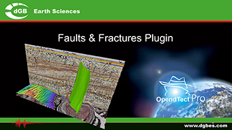 Introduction: New in OpendTect 6: Faults & Fractures Plugin