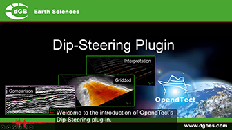 Introduction: OpendTect Dip-Steering Plugin