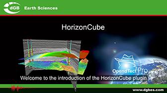 Introduction: OpendTect HorizonCube Plugin