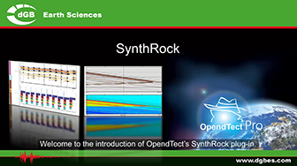 Introduction: OpendTect SynthRock Plugin
