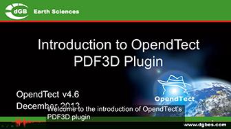 Introduction: PDF3D