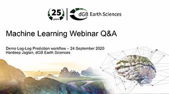 Machine Learning Webinar Q&A - Demo Log-Log Prediction workflow