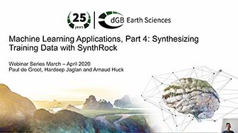 Machine Learning Webinars: Part 4: Synthesizing Training Data with SynthRock