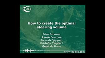 Webinar: How to create the optimal steering volume in OpendTect