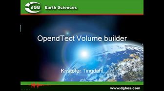 Webinar: OpendTect Volume Builder