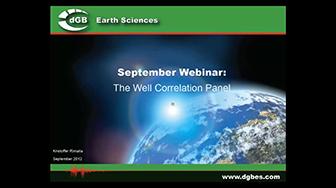 Webinar: The Well Correlation Panel in OpendTect 4.4