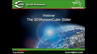 Webinar: The 3D HorizonCube Slider