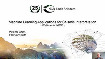 OpendTect Webinar: Machine Learning Applications for Seismic Interpretation
