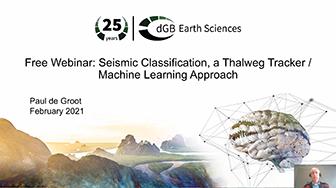 OpendTect Webinar: Seismic Classification: a Thalweg Tracker / Machine Learning Approach