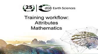 Training workflow: Attributes - Mathematics