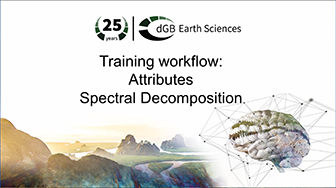 Training workflow: Attributes - Spectral Decomposition