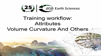 Training workflow: Attributes - Volume Curvature And Others