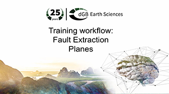 Training workflow: Fault Extraction - Planes