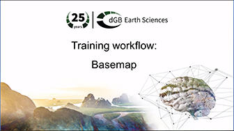 Training workflow: Getting Started - Basemap