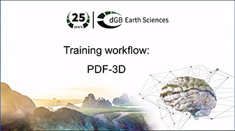 Training workflow: Getting Started - PDF-3D